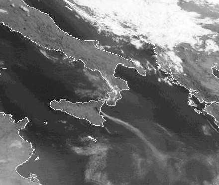 Volcanic eruptions from Mount Etna