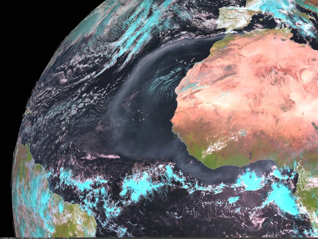 Met-8, 06 March 2004, 12:00 UTC