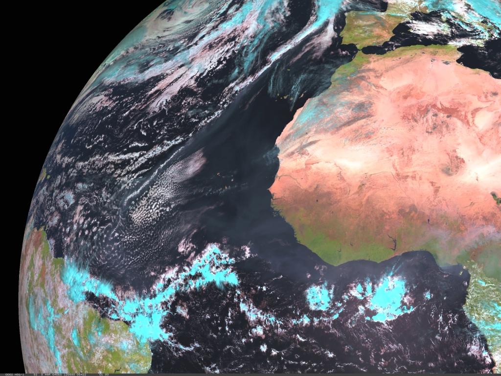 Met-8, 08 March 2004, 12:00 UTC