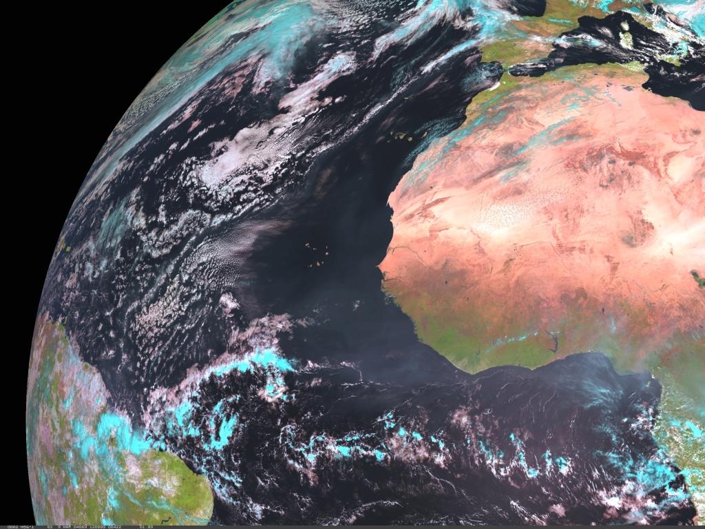 Met-8, 09 March 2004, 12:00 UTC