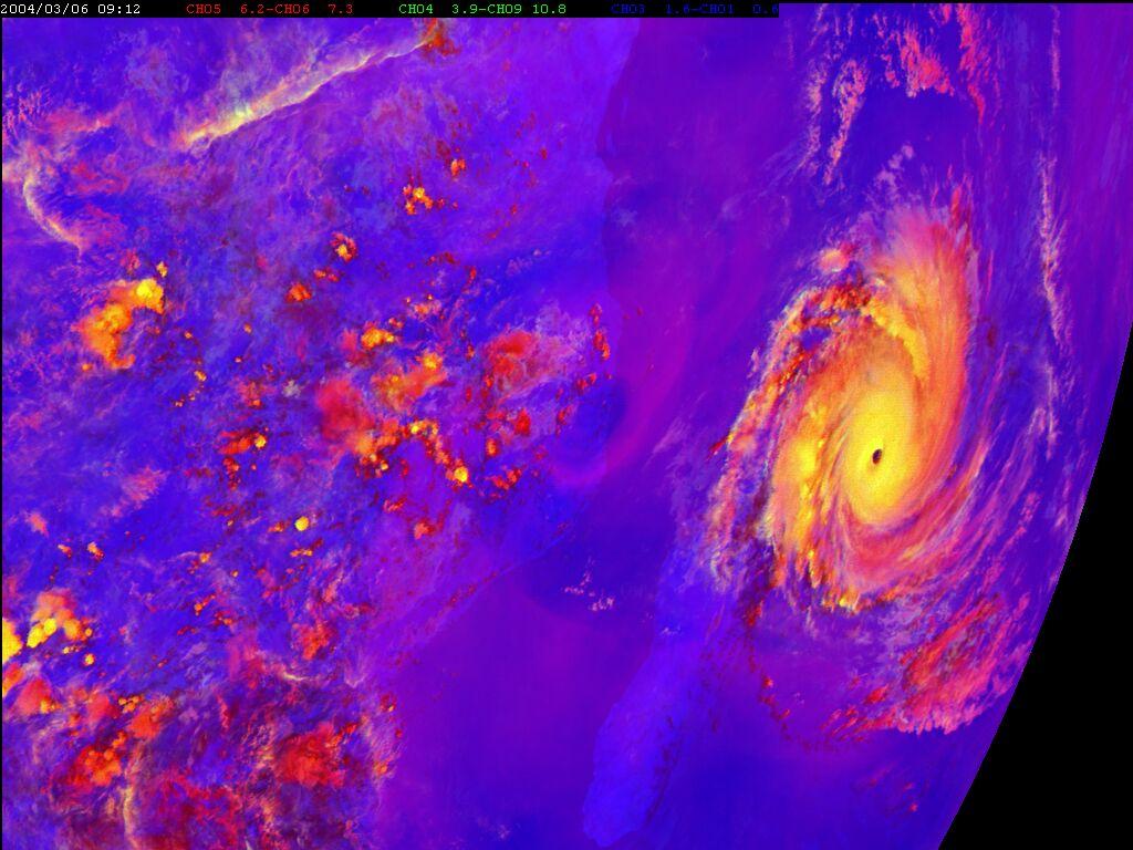 Met-8, 06 March 2004, 09:00 UTC