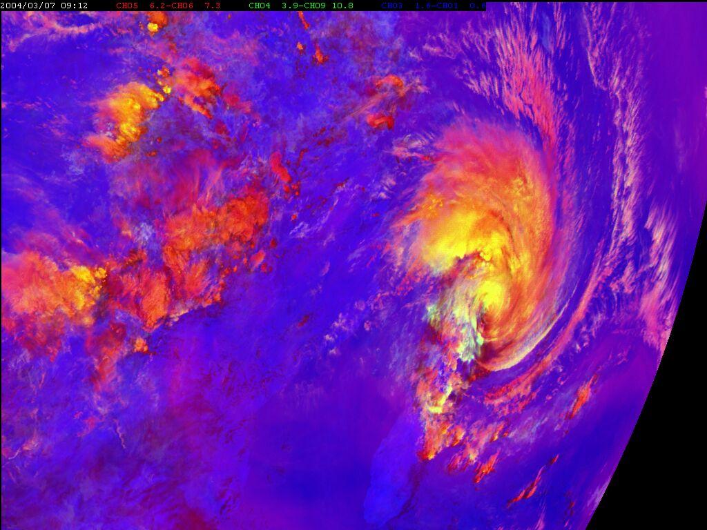 Met-8, 07 March 2004, 09:00 UTC