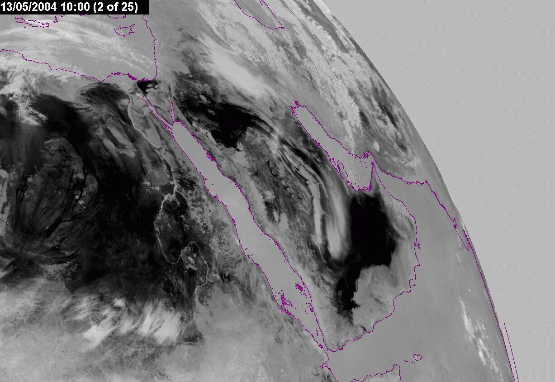 Met-8, 13 May 2004, 10:00 UTC