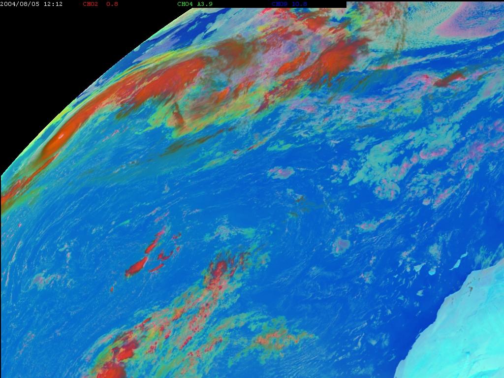 Met-8, 05 August 2004, 12:00 UTC