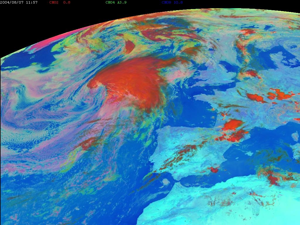 Met-8, 07 August 2004, 12:00 UTC