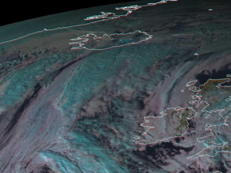 Met-8, 02 November 2004, 14:00 UTC