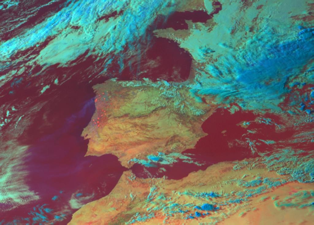 Met-8, 21 August 2005, 17:00 UTC