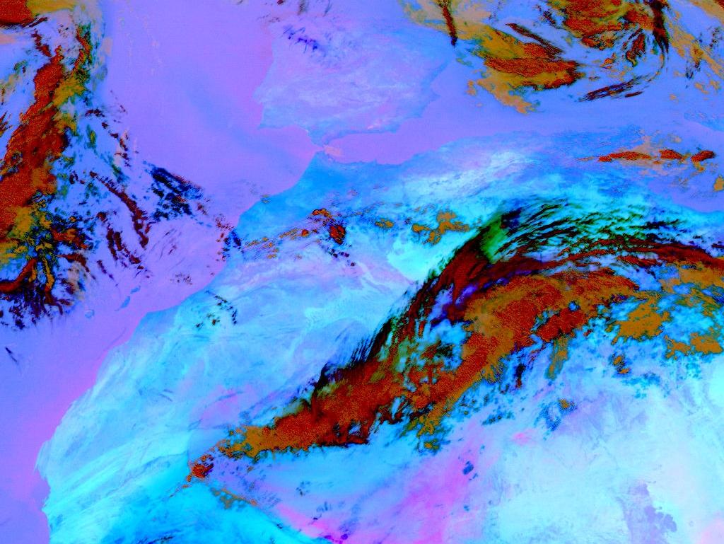 Met-8, 05 October 2005, 12:00 UTC