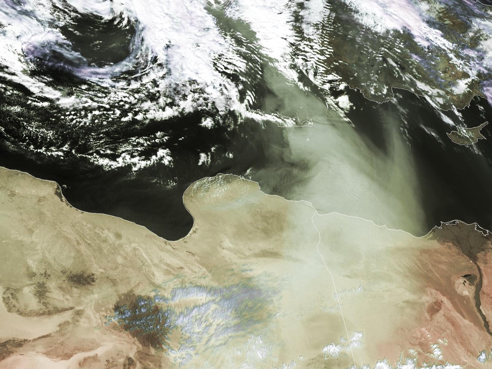 Met-8, 24 February 2006, 12:00 UTC