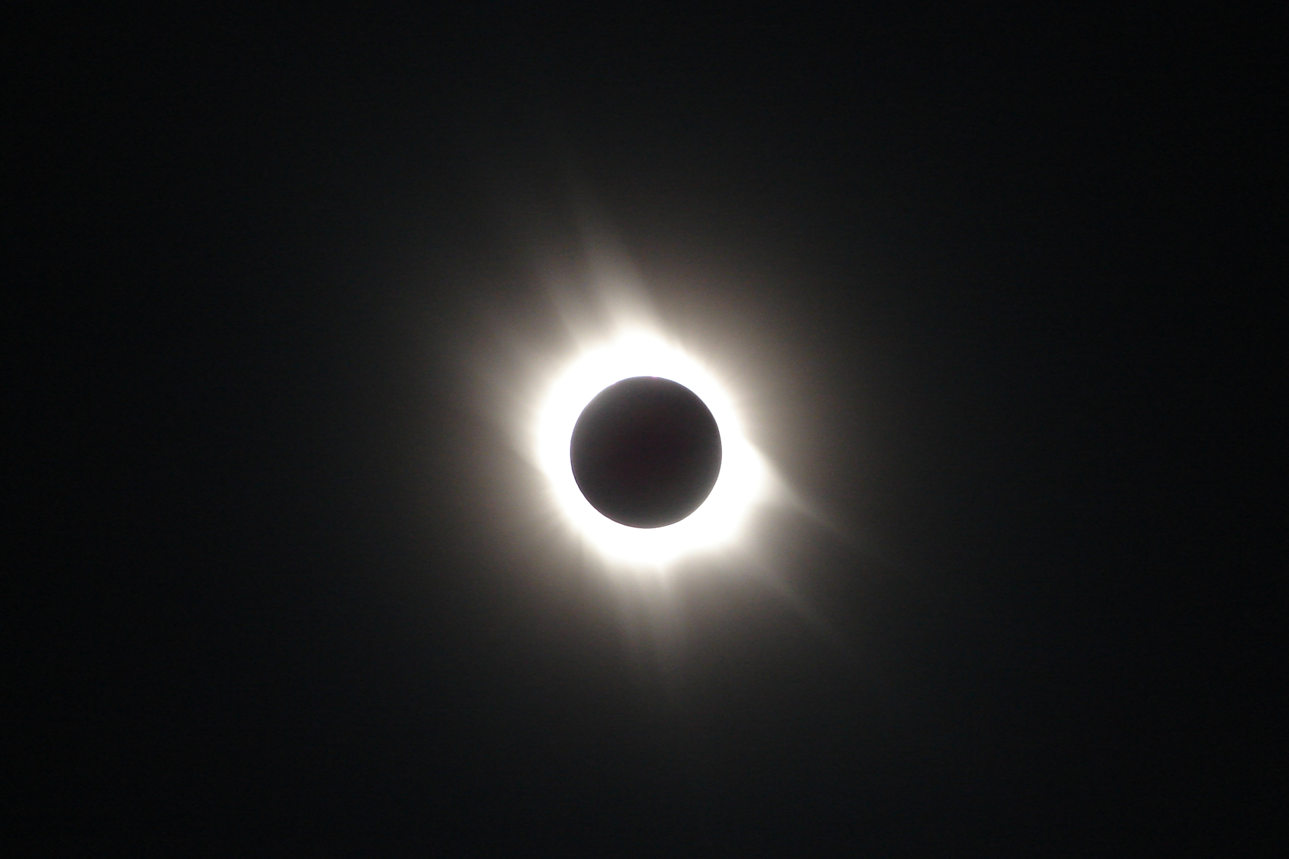 Total solar eclipse: the corona of the