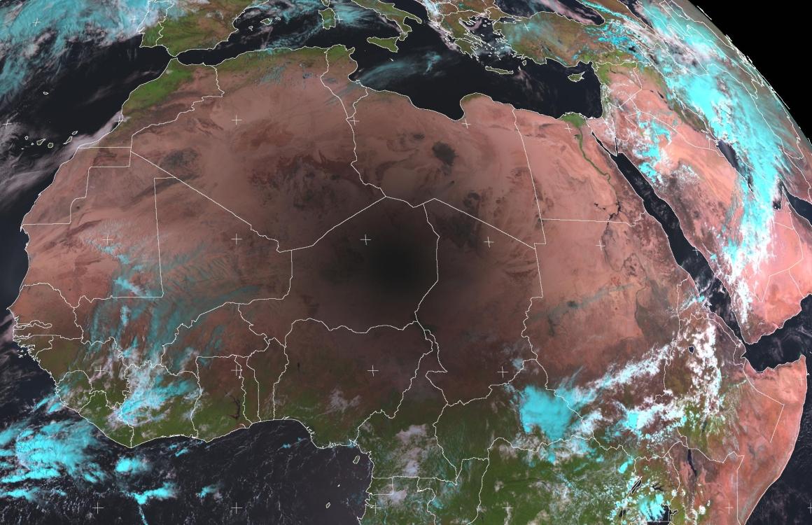 Met-8, 29 March 2006, 09:45 UTC