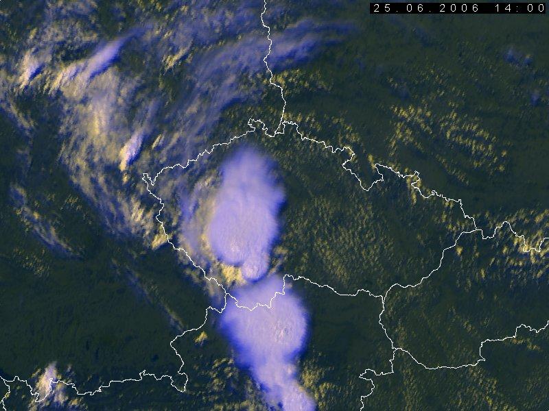 Met-8, 25 June 2006, 14:00 UTC