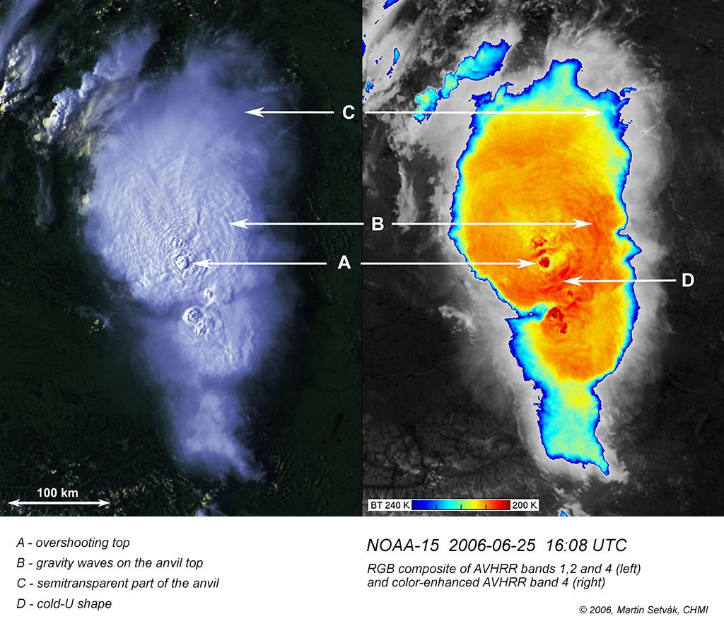 NOAA AVHRR, 25 June 2006, 16:08 UTC
