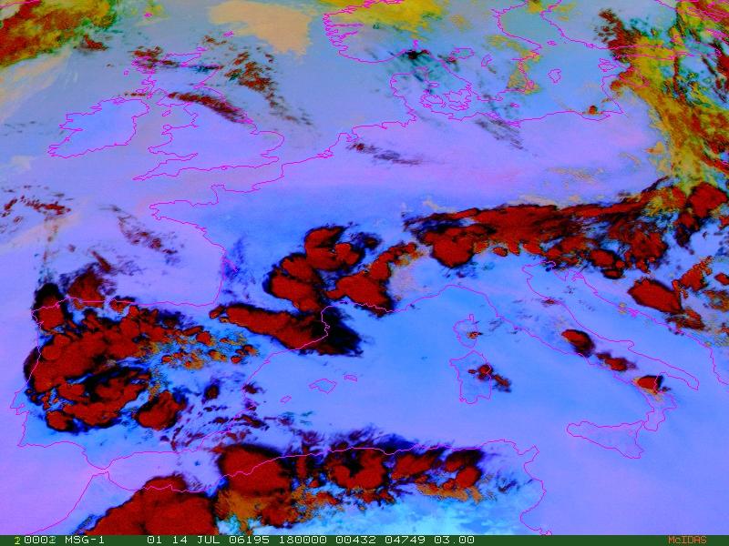 Met-8, 14 July 2006, 18:00 UTC