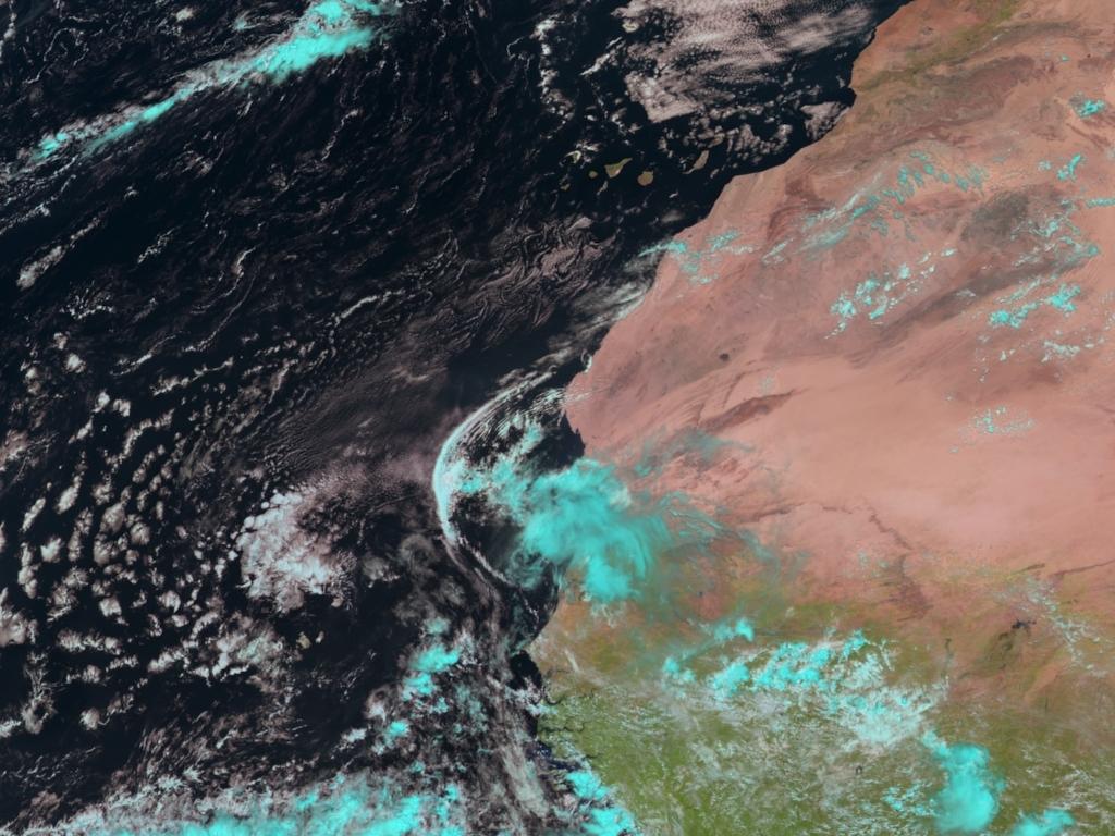 Met-8, 13 August 2006, 12:00 UTC