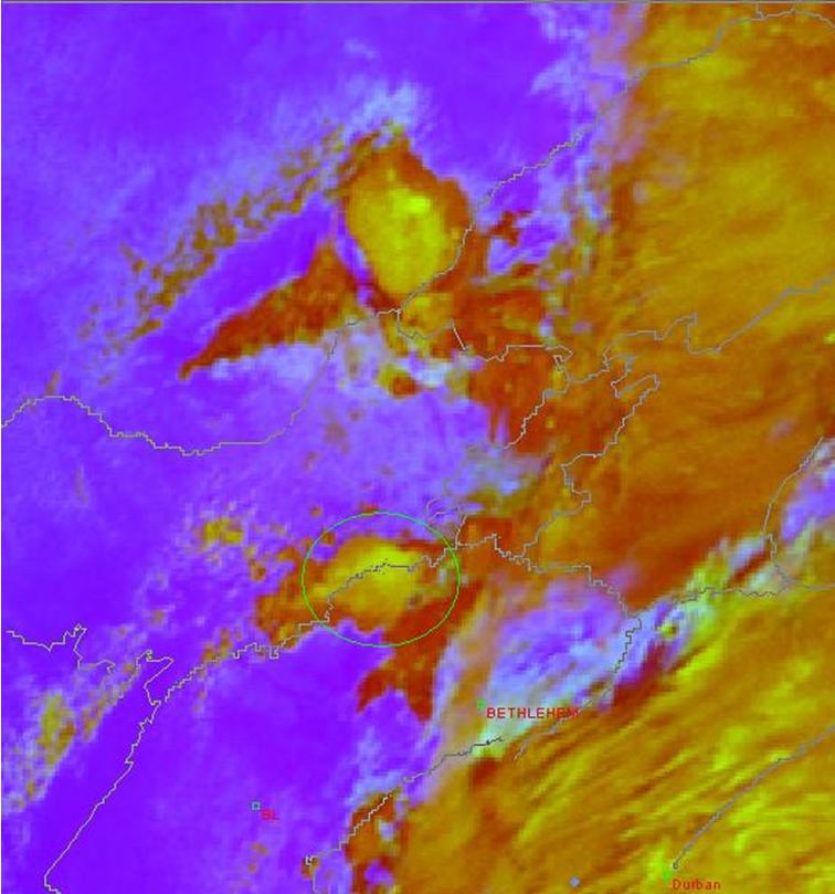 Met-8, 13 November 2006, 10:00 UTC