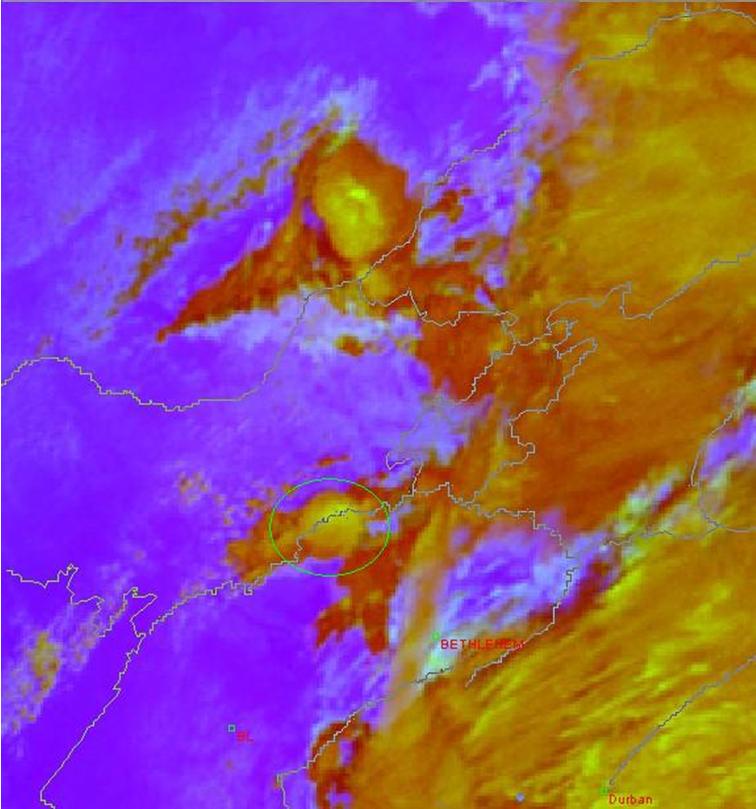 Met-8, 13 November 2006, 09:45 UTC
