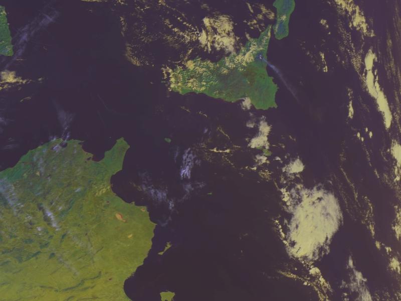 Metop-A, AVHRR, 24 November 2006, 09:30 UTC