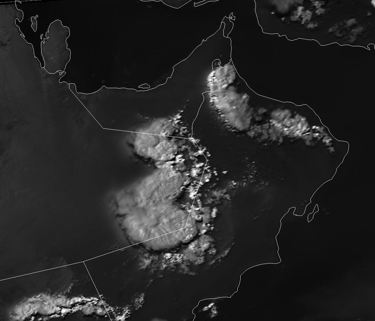 Met-9, 9 August 2008, 13:00 UTC