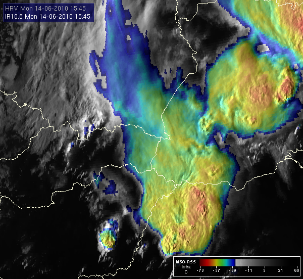 Met-8, 14 June 2010, 15:45 UTC