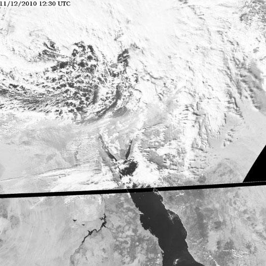 Meteosat-9 HRV, 11 Dec 12:30 UTC