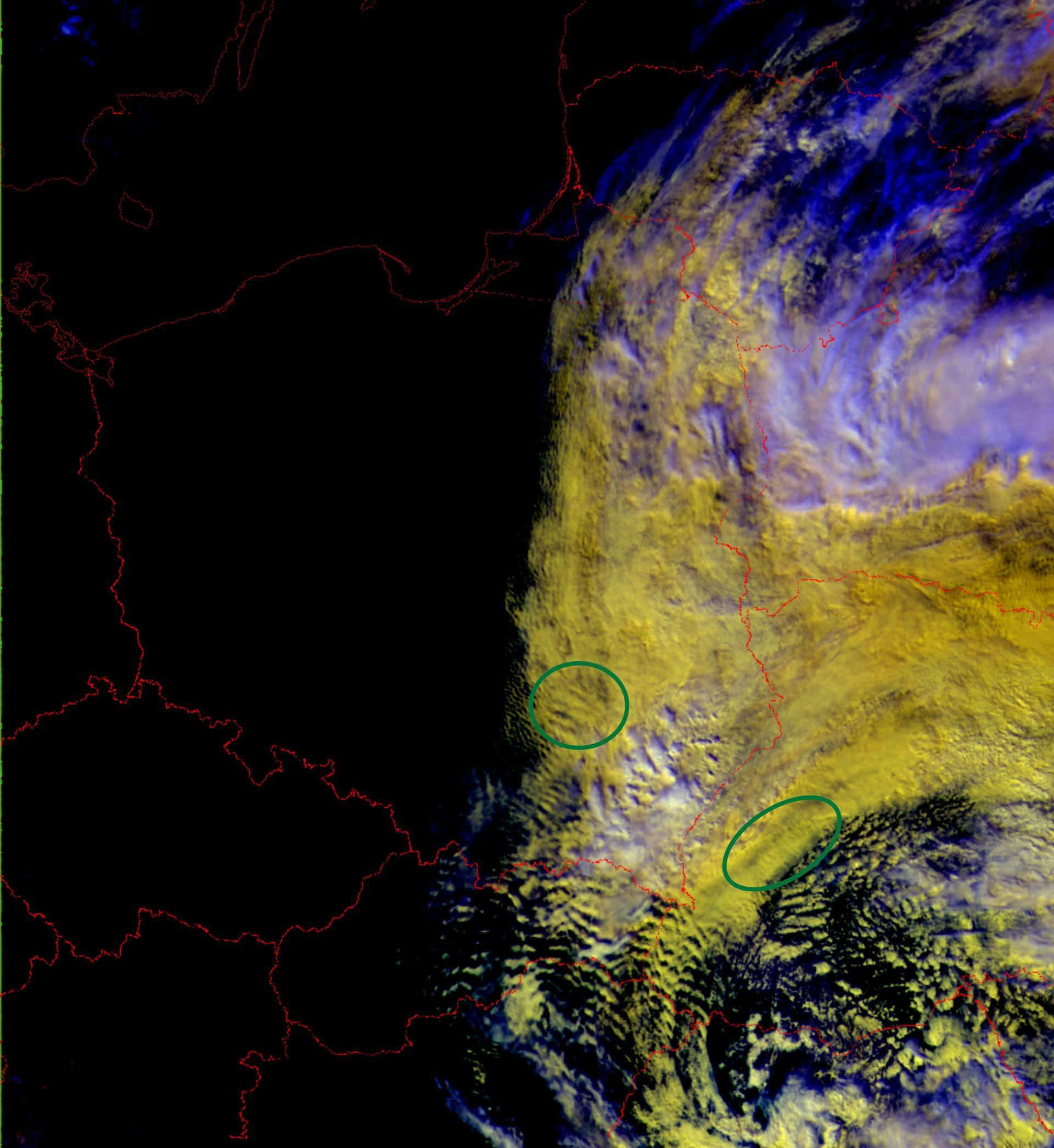 NOAA-19, AVHRR, 07 May 2011, 11:23 UTC