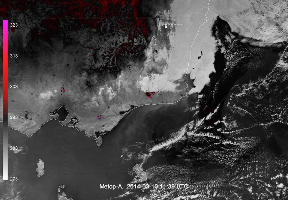 Metop-A, 10 February 2014, 11:39 UTC