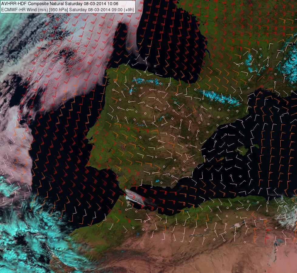 Metop-A, 08 March 2014, 10:06 UTC