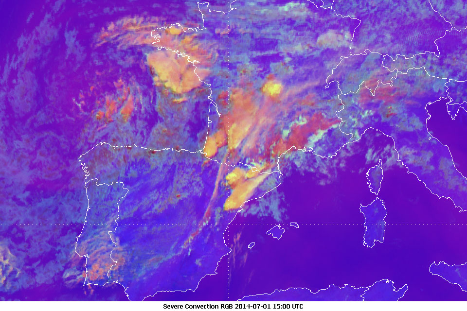 Meteosat-10, 01 July 2014, 15:00 UTC