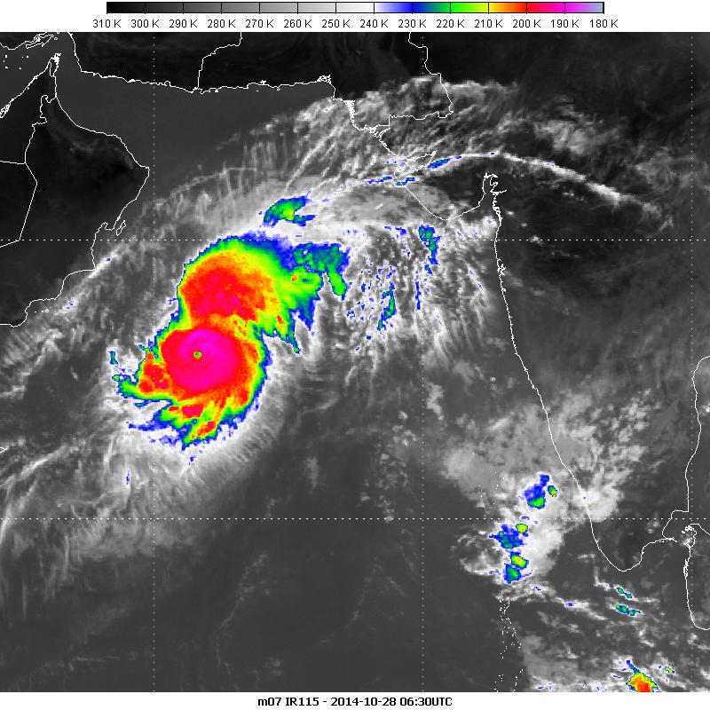 Met-7, 28 October 2014 06:30 UTC