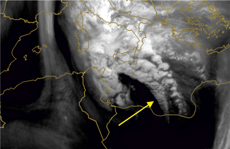 Met-10 Water Vapour, 7 Nov 06:00 UTC