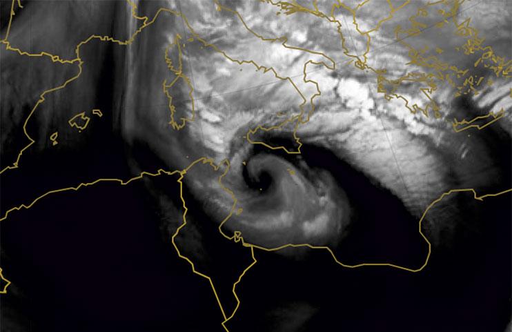 Met-10 Water Vapour, 7 Nov 12:00 UTC