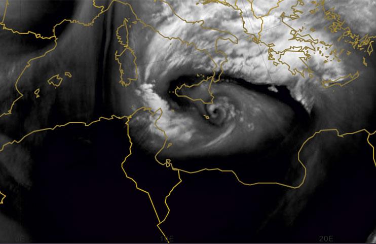 Met-10 Water Vapour, 7 Nov 18:00 UTC