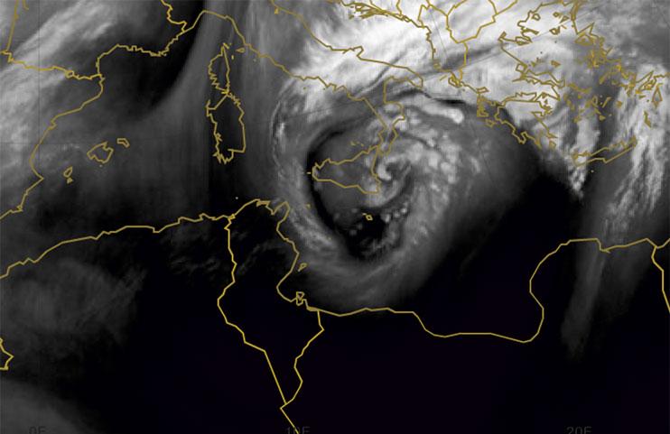 Met-10 Water Vapour, 8 Nov 00:00 UTC
