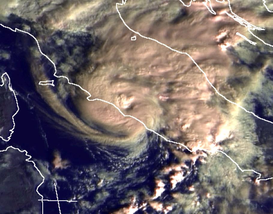 Meteosat-8, 03 December 2014 08:30 UTC