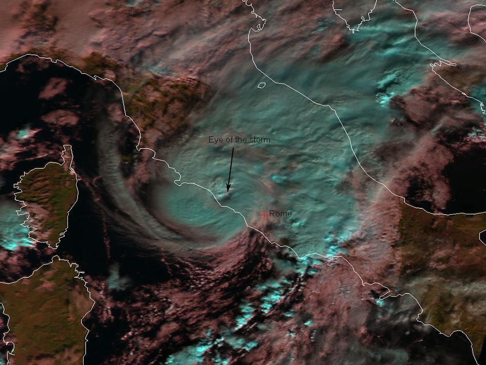 Metop-B Natural Colour RGB, 3 December 08:35 UTC
