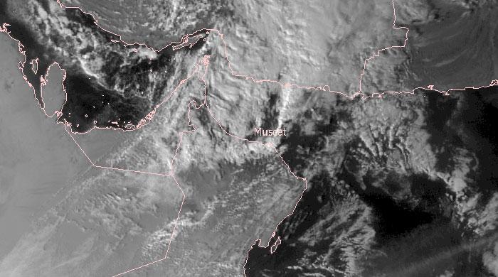 Meteosat-7 Visible, 19 January 12:00 UTC