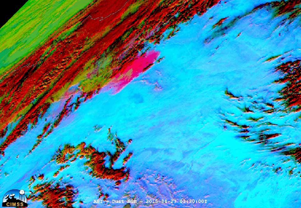 Himawari-8, 27 April 2015, 03:30 UTC