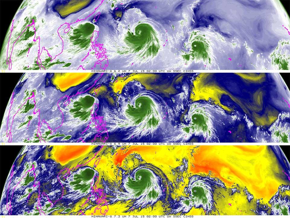 Himawari-8, 7 July 02:00 UTC