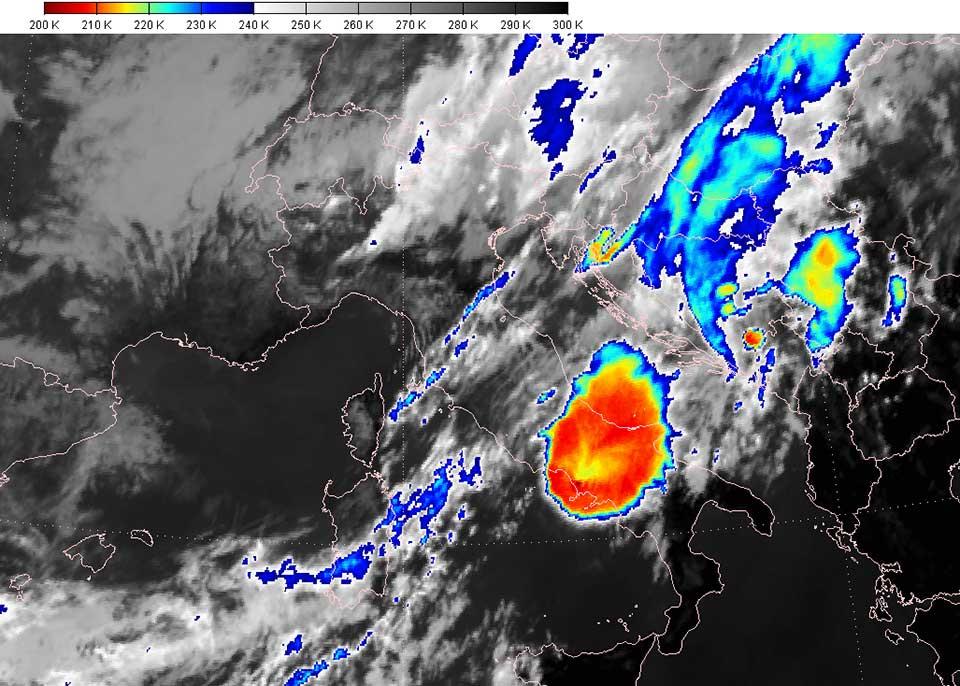Meteosat-10 IR 05 Sept 09:00 UTC