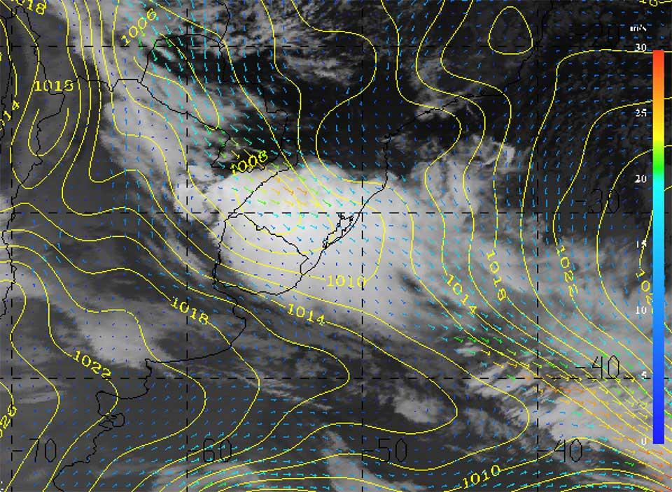 Met-10, 10 October 2015, 10:00 UTC