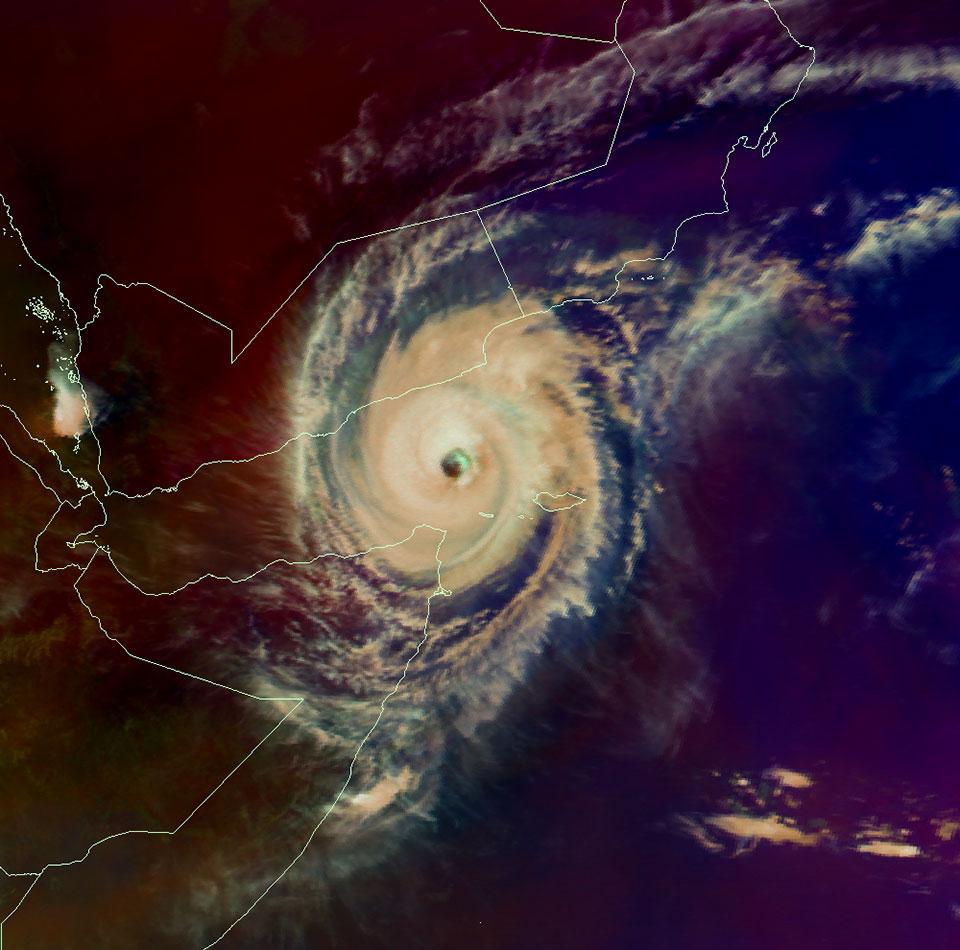 Metosat-10 Tropical Airmass, 2 Nov 07:00 UTC