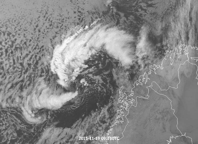 Metop-B, 19 November 09:11 UTC