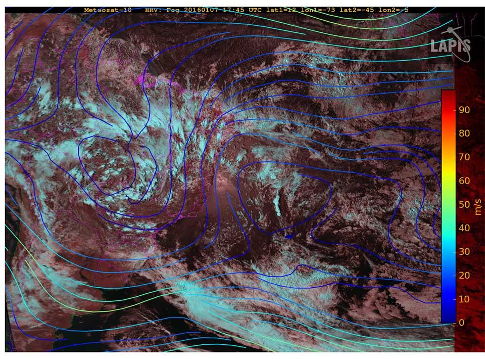 Met-10, 07 January, 17:45 UTC