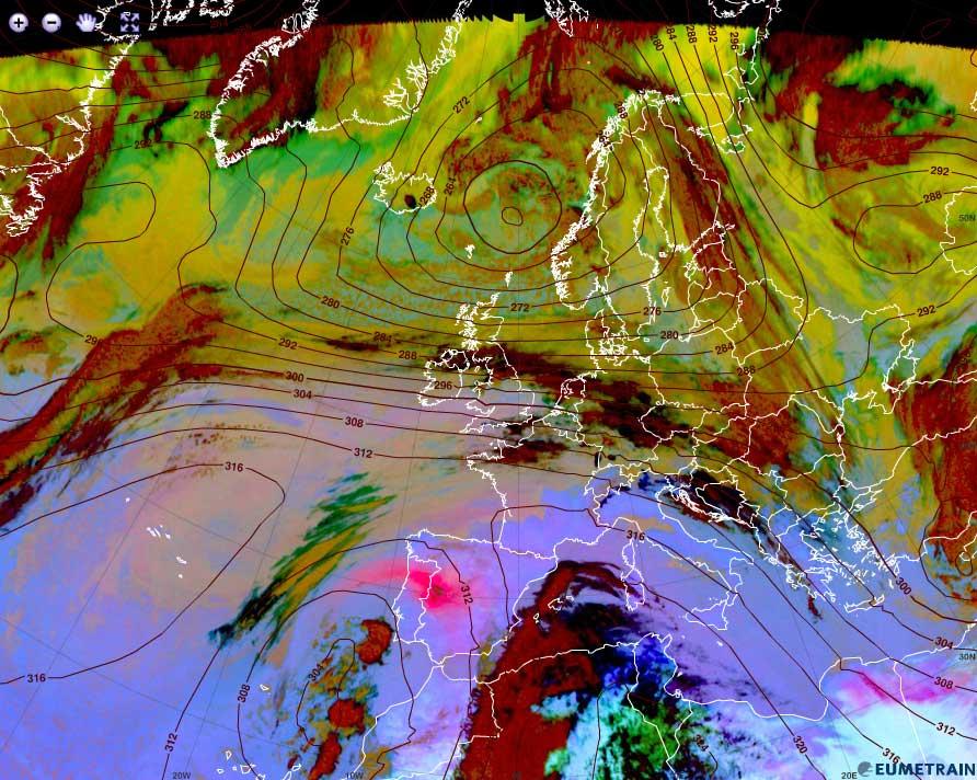 Met-10 Dust RGB, 21 Feb 12:00 UTC