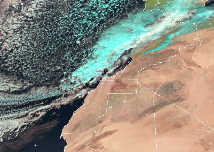 Met-10, 18 Feb, 12:00 UTC