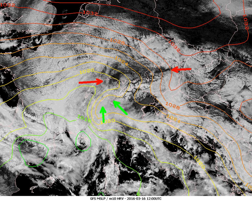 Met-10, 16 March, 12:00 UTC