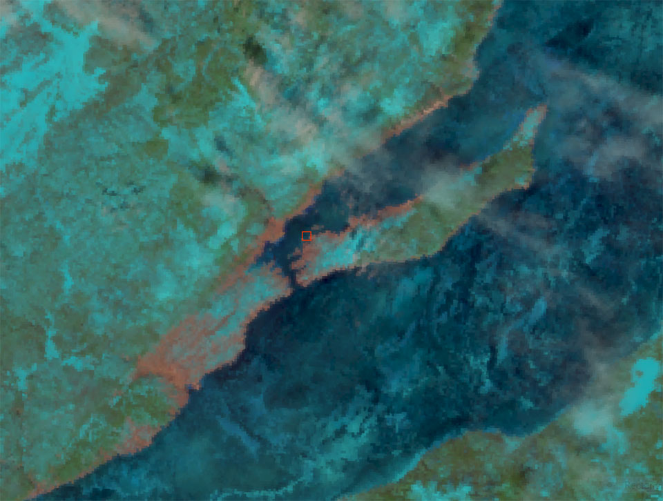SNPP VIIRS Natural Color RGB, 19 March 05:54 UTC