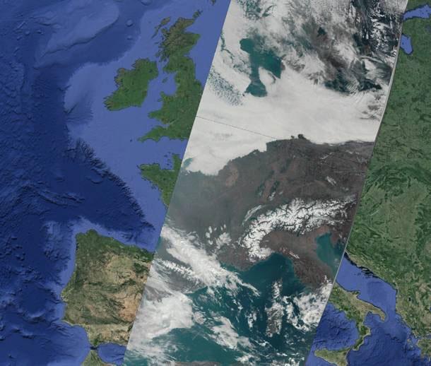 Sentinel-3, 18 March 2016, 09:50 UTC