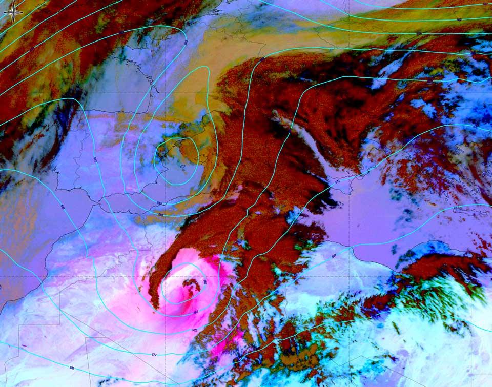 Met-10, 01 April 2016, 12:00 UTC